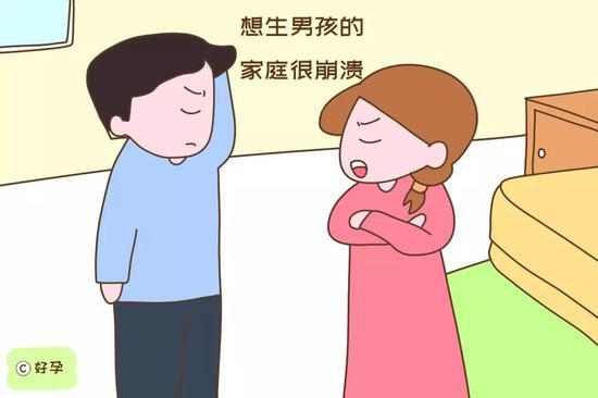 头胎是女儿,结果二胎又生了女儿,想生男孩的家庭很崩溃