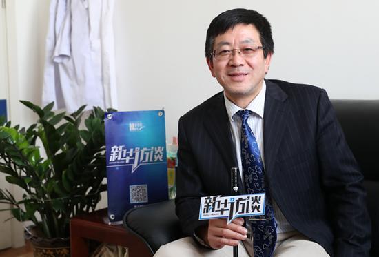 北京妇产医院麻醉科主任徐铭军接受新华网专访