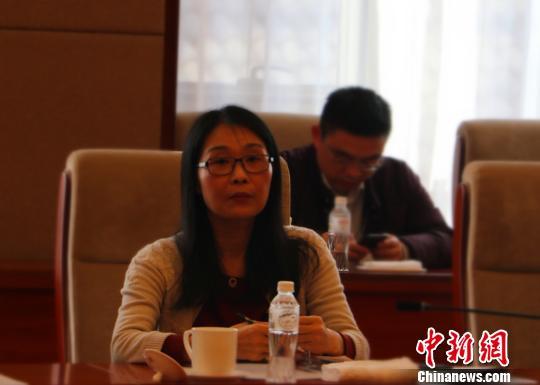 全国人大代表、杭州市妇产科医院院长张治芬 汪恩民 摄