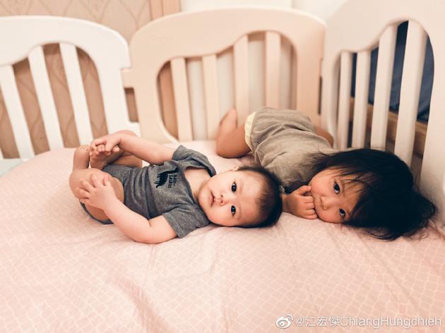 江宏杰和福原爱的孩子