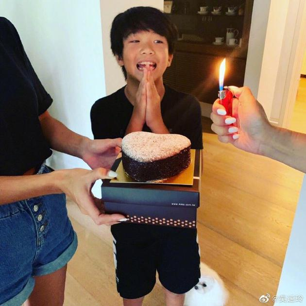 Joe11岁生日