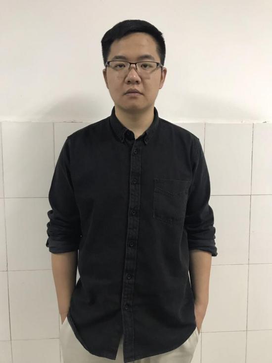 彭洋2019年时的照片