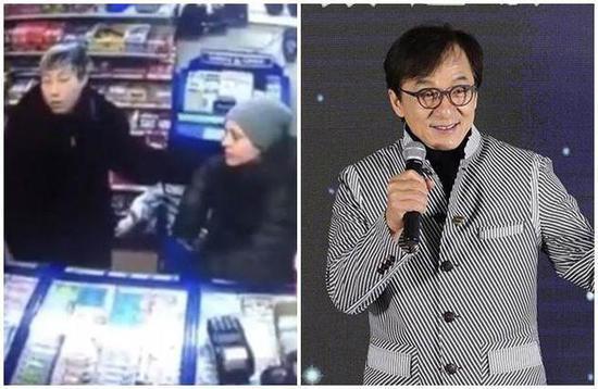 小龙女与其女友超市监视器画面曝光