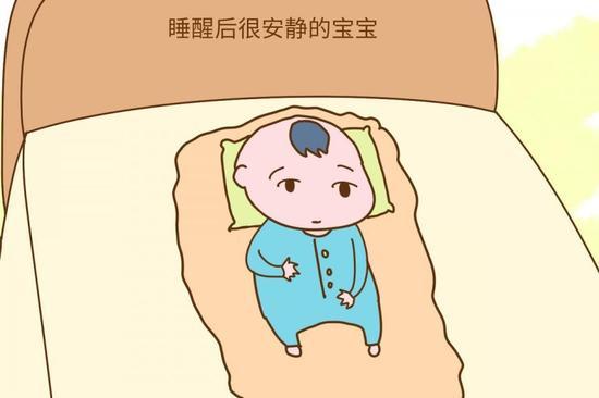 宝宝睡醒后是哭是笑?里面藏着大学问