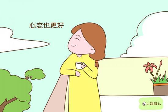 晚生孩子的女人,身体条件不够好,但是物质更充足、心态也更好