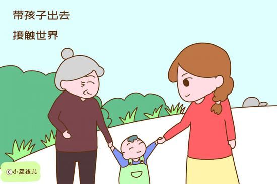 家长越愿意带孩子出去接触世界,孩子越容易和别家孩子拉开距离