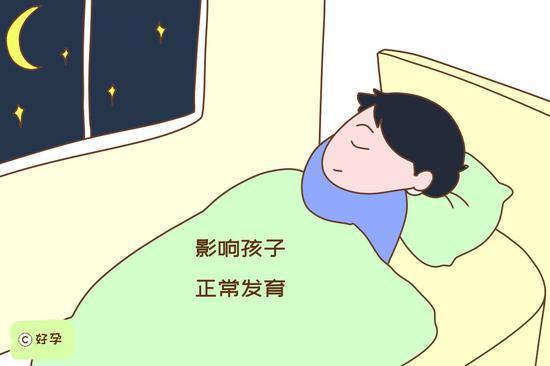 晚睡可能会诱发性早熟,影响孩子正常发育