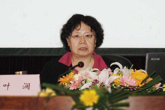 生命实践教育学派创始人、华东师范大学终身教授叶澜