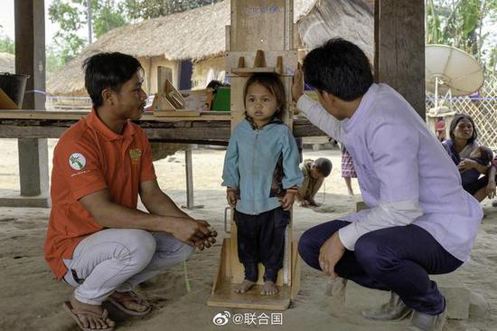 联合国报告:全球1/3儿童营养不良或超重