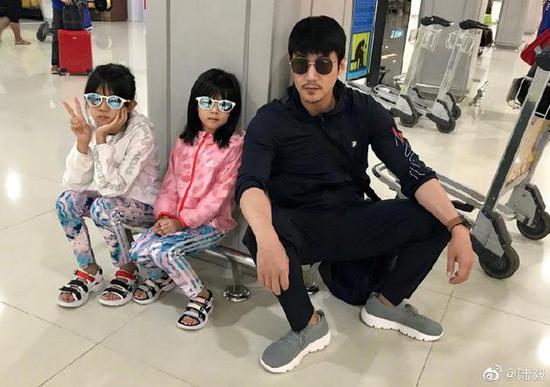 陆毅和女儿