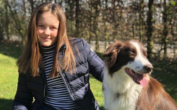 丹麦伊莎贝拉公主12岁生日官方晒照