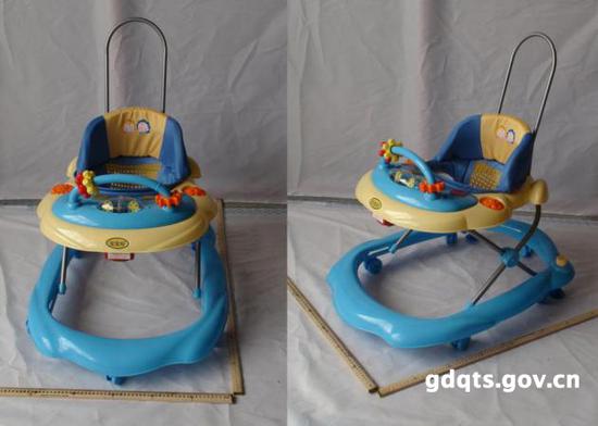 中山宝宝好儿童用品有限公司召回部分3292H的学步车