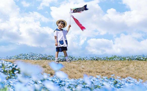 把四岁儿子照片合成 童话而美好