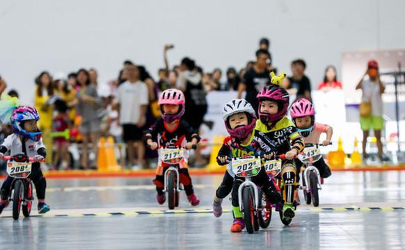 亚洲儿童平衡车锦标赛次日集锦