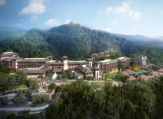北京密云海湾半山酒店