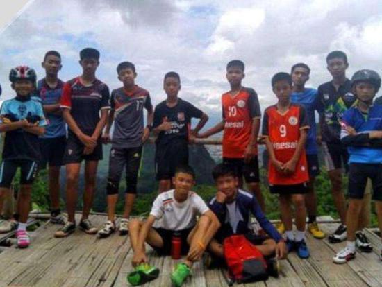 泰国少年足球队