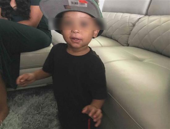 3岁男童杰登·考尔特 (图源:WCNC)