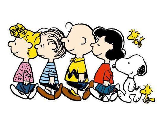 你看过史努比和朋友们的故事吗