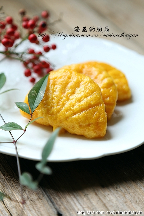 黄金荷叶饼