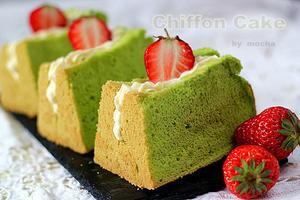 绿意盎然的营养蛋糕--菠菜戚风蛋糕(图)