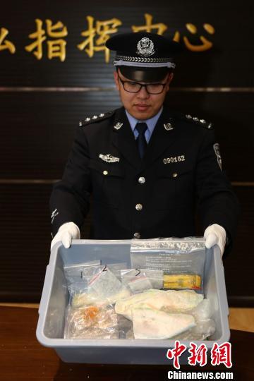 两名外籍人士人体藏毒入境在大连机场被截获。