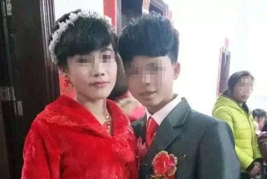 广西宾阳16岁新郎迎娶16岁新娘