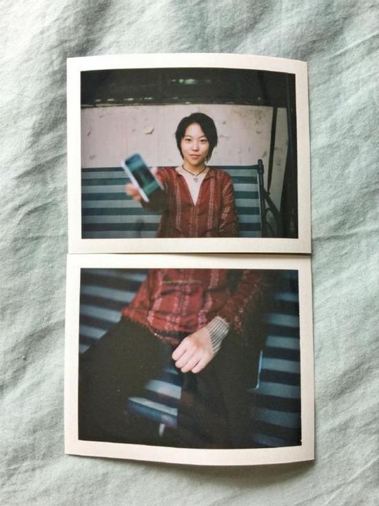 黄觉为窦靖童拍摄的最新照片