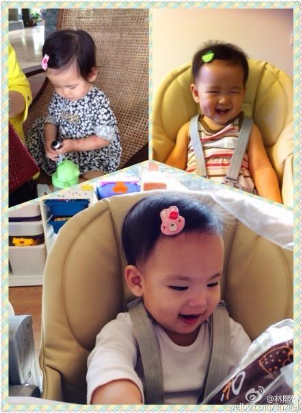 林熙蕾大女儿(上)和幼女