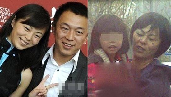 黄渤妻子和女儿