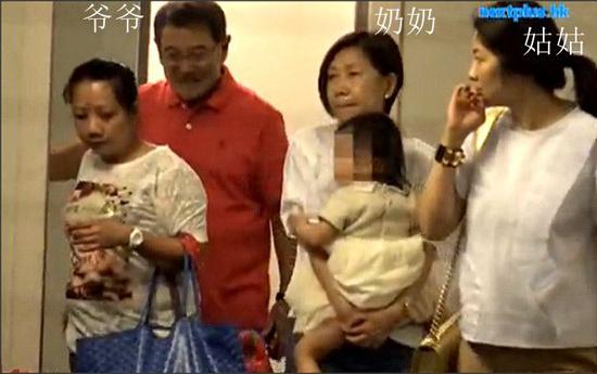 小糯米爷爷奶奶和姑姑出席毕业礼