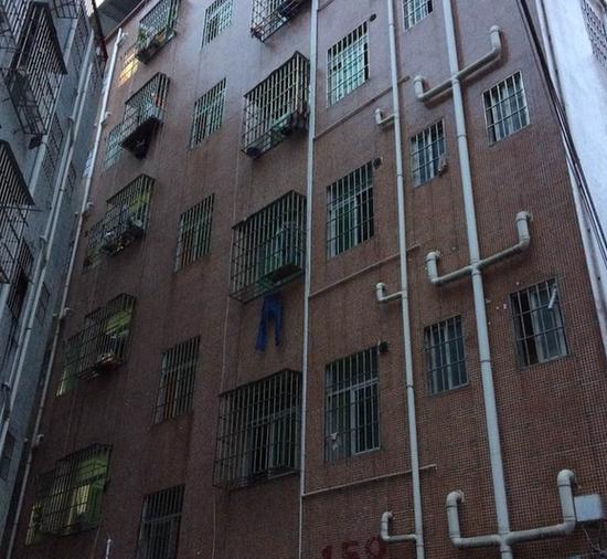 刘某一家租住的159号楼