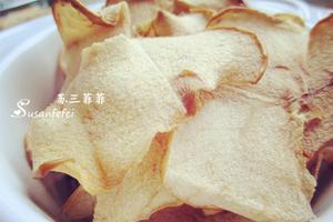 一個蘋果就能搞定的零嘴兒--烤蘋果脆片(圖)