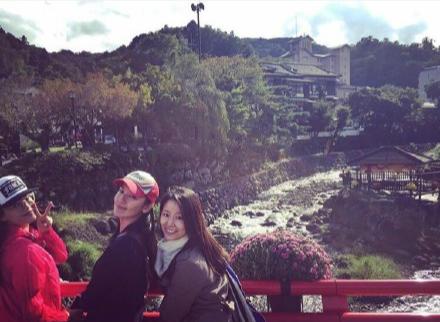 舒淇、林熙蕾和林心如游日本
