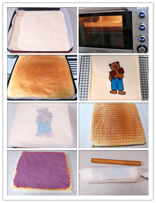 蛋糕片的制做9-16步