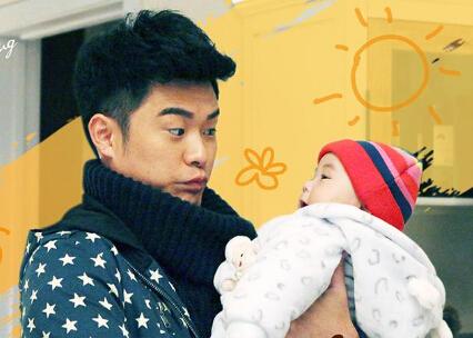 陈赫此前在电视剧《三个奶爸》中饰演新手奶爸