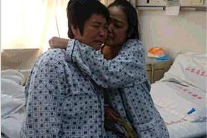 母亲捐肝救病重怀孕女儿:能多切就多切