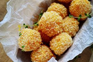 换个酥脆的口感吃红薯--芝心薯球(图)