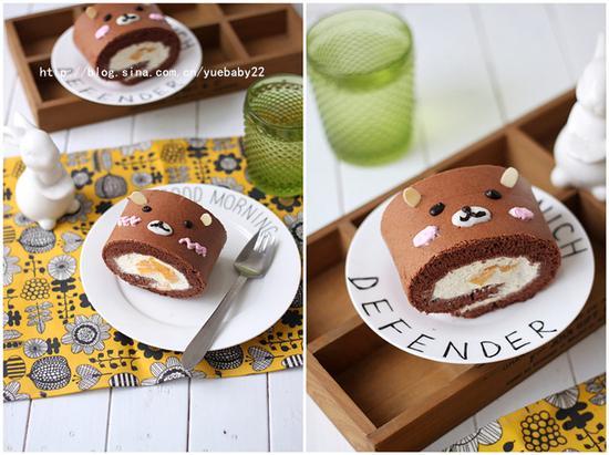 熊可可蛋糕卷