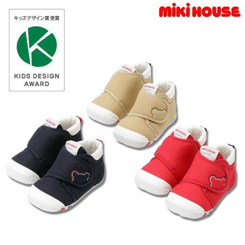 mikihouse学步鞋