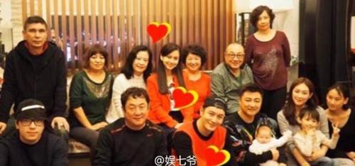 黄晓明家庭聚会