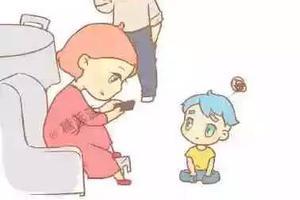 别总在孩子面前玩手机 小故事告诉你伤害有多大