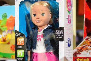 德国禁止出售美国产玩具娃娃 称其为间谍装置