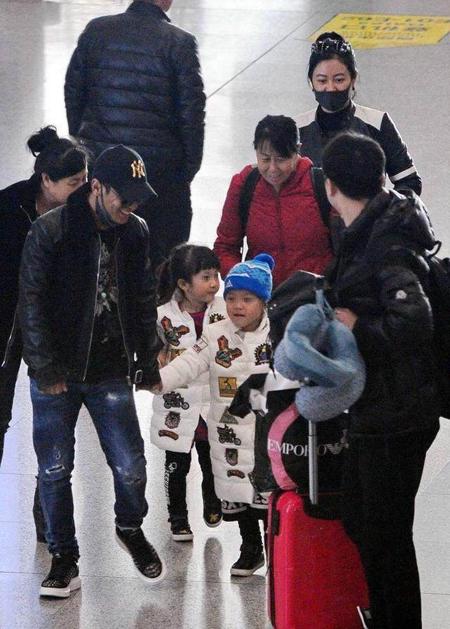 宋小宝和儿女