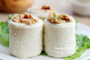 营养美味新做法--花生酱吐司卷(图)