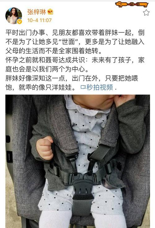 张梓琳微博截图