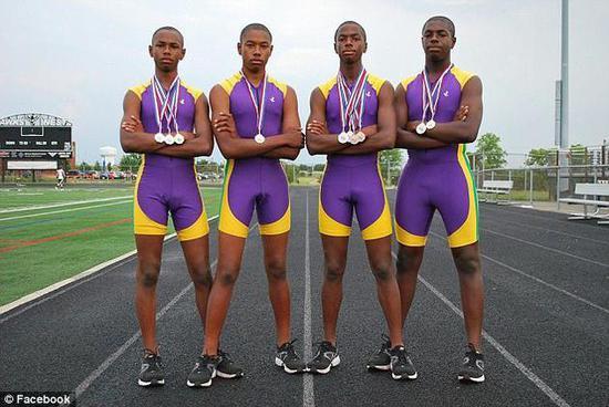 美国四胞胎兄弟