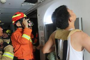 浙江2岁男童坠落22楼通风管道井 2小时成功救援