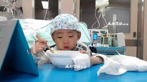 小思瀚在医院