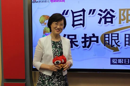 北京大学第一医院小儿眼科主任、主任医师李晓清