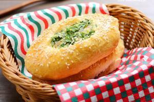 葱香味浓极致松软--葱香土豆面包(图)